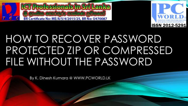 How to Open | Hack | Recover | Access Password protected Zipped | Compressed | Archived files