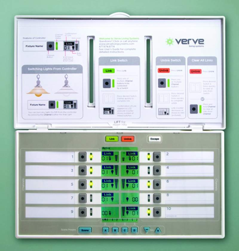 Verve Lighting Control