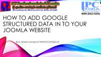 How to Add Google Structured Data In To Your Joomla CMS Website English Lesson