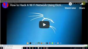 How to Hack A Wi Fi Network Using Dictionary Attack Sinhala Lesson