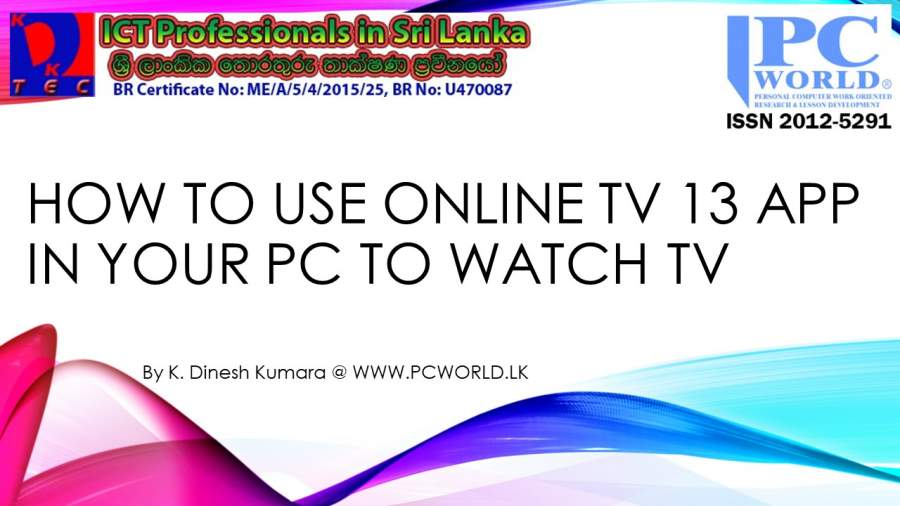 free tv channels apps for pc