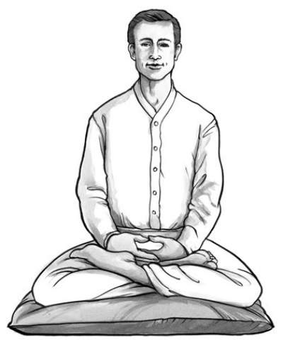 Simple Instructions for Ana Pana Sathi Meditation