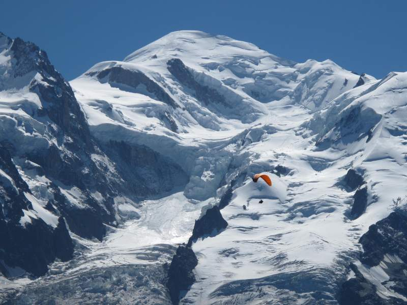 A brief History of Mont Blanc and Video of Climbing