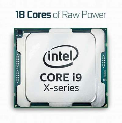 Intel Launches Core i9 X-Series CPUs 18Cores