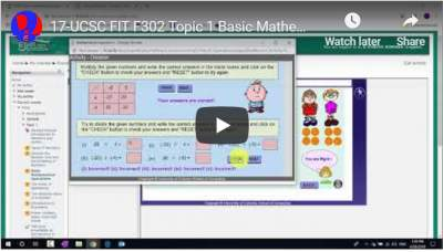 17-UCSC FIT F302 Topic 1 Basic Mathematical Operations Introduction to Division