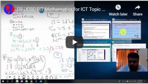 09-UCSC FIT Mathematics for ICT Topic 1 Adding Unlike Fractions